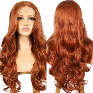 "SADEE 24""  COPPER BODY WAVE LACE FRONT WIG💫 *NWT*"